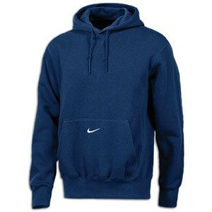 Nike Core Fleece Pullover Hoodie   Mens   For All Sports   Clothing   Navy/White