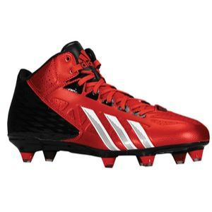 adidas Filthy Quick Mid D   Mens   Football   Shoes   University Red/White/Black