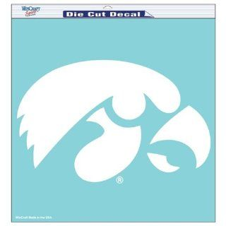 "Iowa Hawkeyes Die Cut Decal   18""x18""  Automotive Decals  Sports & Outdoors"