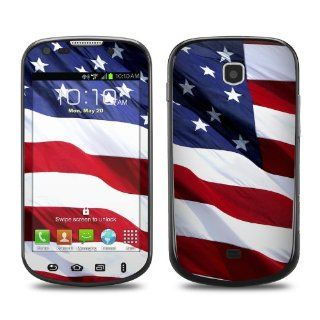 Patriotic Design Protective Decal Skin Sticker (High Gloss Coating) for Samsung Galaxy Stellar SCH i200 Cell Phone Cell Phones & Accessories