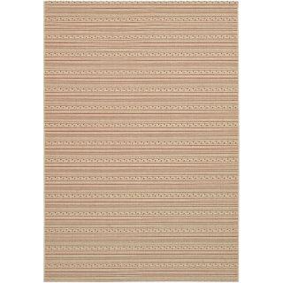 Couristan Five Seasons Amargosa Indoor/Outdoor Area Rug   Cream/Red   Area Rugs