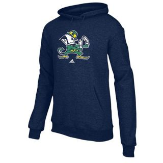 adidas College Versa Logo Hoodie   Mens   Basketball   Clothing   Notre Dame Fighting Irish   Navy