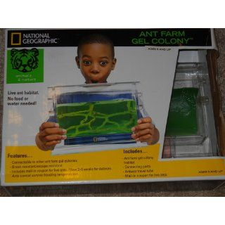 National GeographicTM Ant Farm Gel Colony Toys & Games