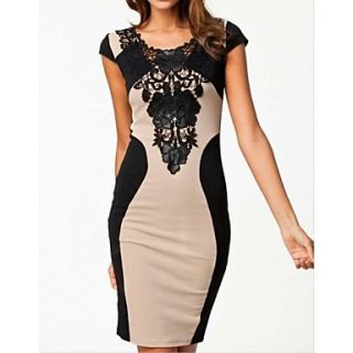 Womens Sexy Lace Dress