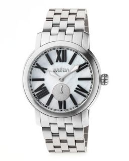 Valentina II Stainless Steel Watch Head, 42mm   Brera   Silver (42mm )