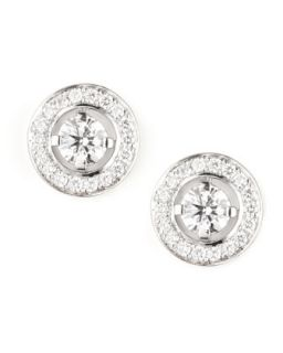 Ava 18k White Gold Diamond Stud Earrings, 0.72 TCW   Boucheron   White (18k )