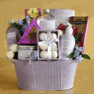 Lavender Luxury Spa Experience Mother's Day Gift Idea Valentine's Day Gift Idea for Her Birthday Gift Idea for Her Anniversary Gift Idea  Gourmet Chocolate Gifts  Grocery & Gourmet Food