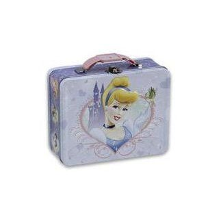 Disney Princess Cinderella Embossed Metal Lunch Box Toys & Games
