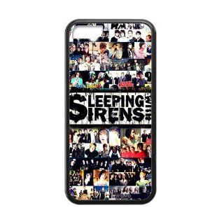 The Popular Band Sleeping With Sirens IPhone 5C TPU Protective Hard Cover Case Cell Phones & Accessories