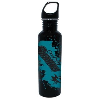 Hunter San Jose Sharks Splash of Color Stainless Steel Screw Top Eco Friendly