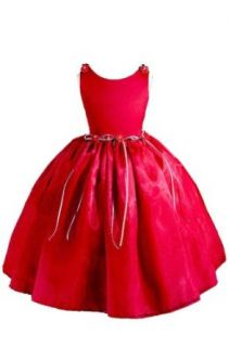 AMJ Dresses Inc Simple Red Flower Girl Christmas Dress Size 12 Clothing