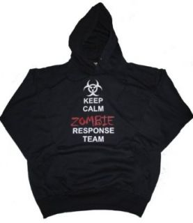 Got Tee Keep Calm Zombie Outbreak Response Team Hoodie / Sweatshirt Clothing