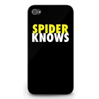 Anderson Silva   Spider Knows   Iphone 4/4s Case Cell Phones & Accessories