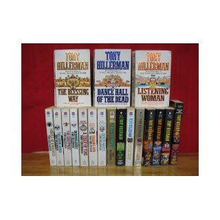 Joe Leaphorn and Jim Chee Mystery Series Complete Set by Tony Hillerman, Volumes 1 18. Also known as the Navajo Tribal Police Mystery Novels. (Titles include The Blessing Way / Dance Hall of the Dead / Listening Woman / People of Darkness / The Darkwind /