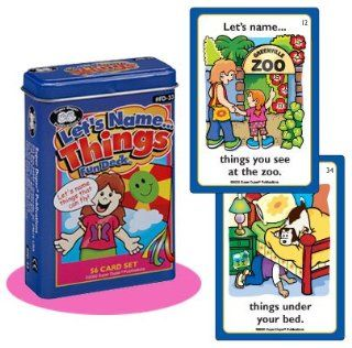Let's NameThings Fun Deck Cards   Super Duper Educational Learning Toy for Kids Toys & Games