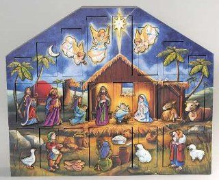 Byers Choice Ltd Traditions Advent Calendars with Box, Collectible   7683455   Holiday Decor Advent Calendars