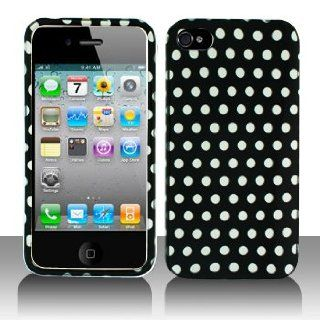 Cuffu   Polka Dot   Apple iPhone 4 Case Cover + Screen Protector (Universal 8 cm x 6 cm Customize your own LCD protector Great for any electronic device with LCD display) Makes Perfect Gift In Only One LOWEST Shipping Rate $2.98   Goes With Everyday Styl