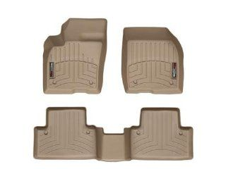 WeatherTech Custom Fit FloorLiner   Volvo S40   2004 2011   1st & 2nd Row Tan Automotive