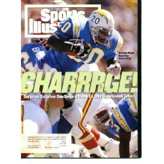 Sports Illustrated October 17 1994 Natrone Means/San Diego Chargers Cover, Martina Hingis, Miami/Florida State, Boston College/Notre Dame, Colorado State/Arizona, Kentucky Blues, John Elway/Denver Broncos, Tiger Woods/World Amateur Team Championship Sport
