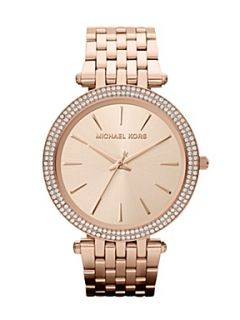 Michael Kors MK3192 Darci Rose Gold Ladies Bracelet Watch