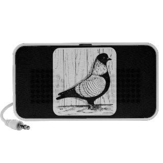 Starling Pigeon Silver laced 1979 Notebook Speakers