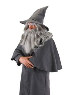 Gandalf Adult Wig & Beard Halloween Costume   Most Adults Gandalf Wig And Beard Clothing