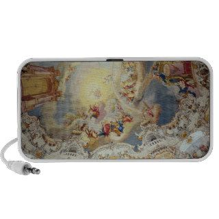 The Last Judgement, ceiling painting Notebook Speaker