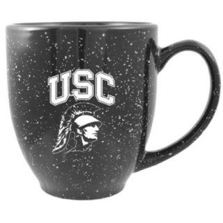 Usc Trojans 16oz Ceramic Bistro Coffee Mug  Sports Water Bottles  Sports & Outdoors