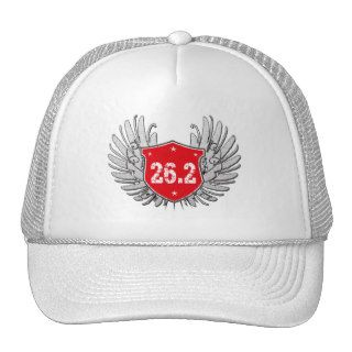 26.2 Marathon Shield Trucker Hats