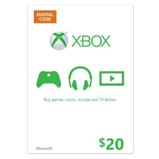 Xbox $20 Gift Card [Online Game Code] Video Games