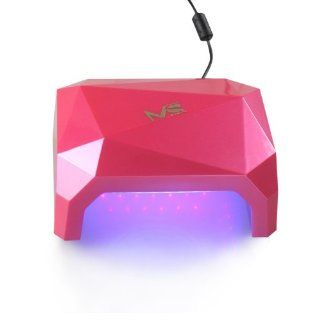 Valentine's Day Best Gift For Her   2013 Newest MelodySusie™ Violetinal 2 in 1 LED & UV Lamp Gel Nail Dryer Curing Gelish soak off, Shellac UV Color Coat, Shellac Top coat, Shellac base coat UV, OPI Gelcolor Nail Polish, Orly Gel FX, Red Carp