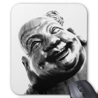 Laughing Buddha Mouse Pads
