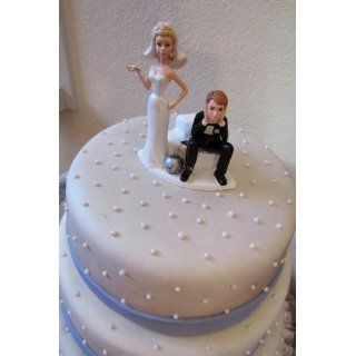 Wilton Ball and Chain Humorous Cake Topper Decorative Cake Toppers Kitchen & Dining