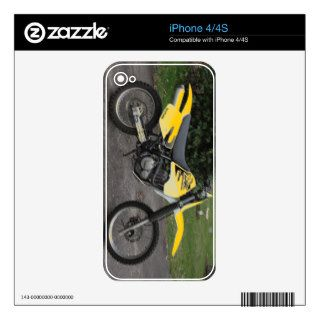 iPhone Skin Suzuki DR Dirt Bike Motorcycle Decals For The iPhone 4S