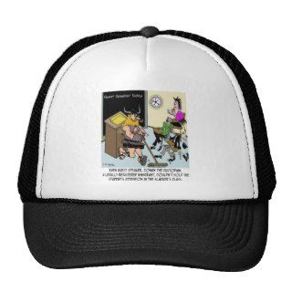 Conan The Custodian in Slacker Class Trucker Hat