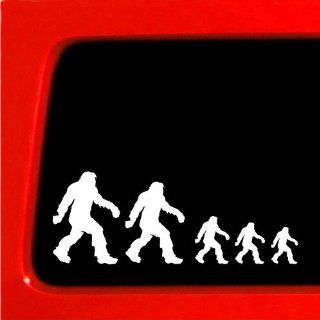 Sasquatch stick figure family bigfoot Vinyl Decal Sticker funny Nobody car new Automotive
