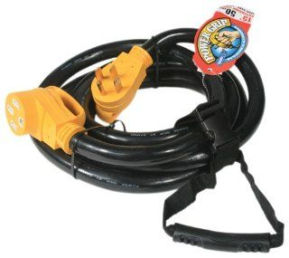 Camco 55195 50 AMP 30' Extension Cord with PowerGrip Handle Automotive