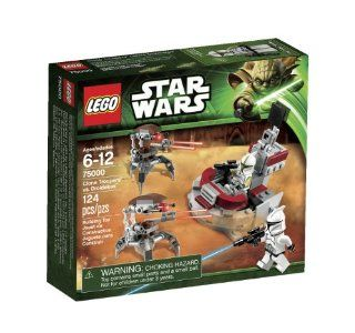 LEGO Star Wars Clone Troopers vs Droidekas 75000 Toys & Games