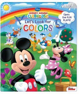 Disney Mickey Mouse Clubhouse Let's Look for Colors (9780794427993) Disney Mickey Mouse Clubhouse, Susan Amerikaner Books