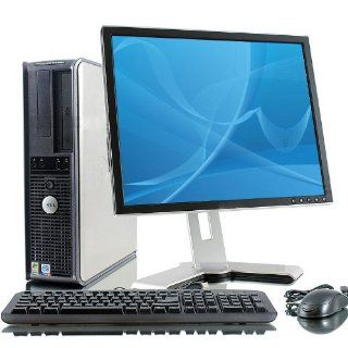 "Dell Optiplex GX620 Intel Pentium 4 2800 MHz 40Gig Serial ATA HDD 1024mb DDR2 Memory DVD ROM Genuine Windows XP Professional + 19"" Flat Panel LCD Monitor Desktop PC Computer Professionally Refurbished by a Microsoft Authorized Refurbisher  Computer U"