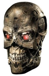 Terminator Salvation Movie T600 Deluxe Overhead Latex Mask Clothing