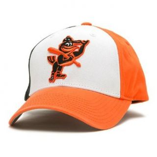 Baltimore Orioles Hat Past Time Throwback Orange White Adjustable Cap by American Needle One Size Adjustable  Headwear  Clothing