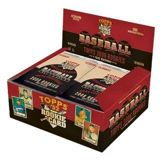 2006 Topps Rookies   1952 Edition   Unopened Hobby Box (20 packs/box, 8 card per pack, average of 3 autographs per 24 pack box  loaded with new rookies designed after the classic 1952 Topps Set ) at 's Sports Collectibles Store