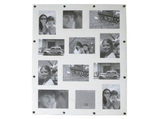 Present Time Photo Frame Fridge Collage Magnetic White