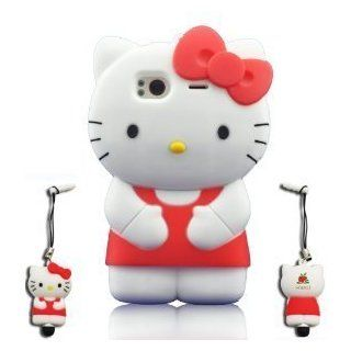 I Need's 3d Hello Kitty Hybrid Silicone Case Cover for HTC Sensation G14 Tmobile with 3D Hello Kitty Stylus Pen   Red red Cell Phones & Accessories