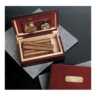 Wedding Favors Personalized Cherry Wood Humidor Health & Personal Care