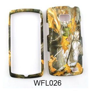 LG Ally vs740 Camo/Camouflage Hunter Series, w/ Dry Leaves Hard Case/Cover/Faceplate/Snap On/Housing/Protector Cell Phones & Accessories