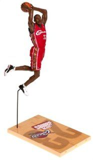 McFarlane Toys NBA Sports Picks Series 5 Action Figure LeBron James Red Jersey Variant Toys & Games