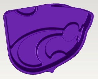 Kansas State K State Wildcats Logo Cake Pan & Dessert Mold Kitchen & Dining