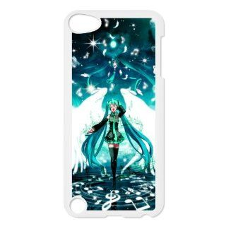 Animated Series 2 Vocaloid Print White Case With Hard Shell Cover for iPod Touch 5th Cell Phones & Accessories